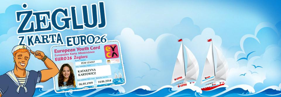 Zamów Kartę EURO26 Żeglarz!