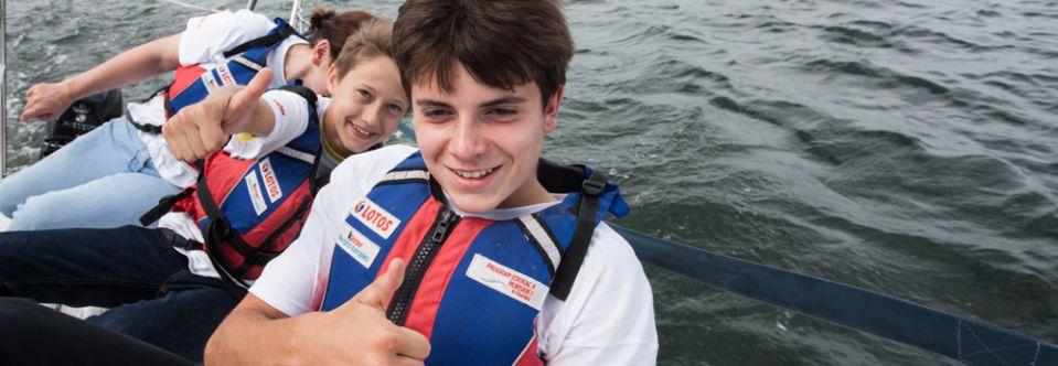 Program Edukacji Morskiej częścią akcji Kinder +Sport.